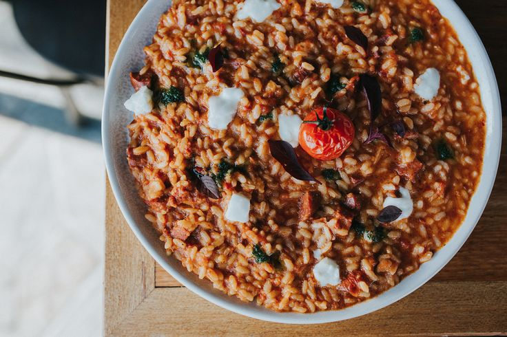 Risotto at it's finest at Balboa Italian.