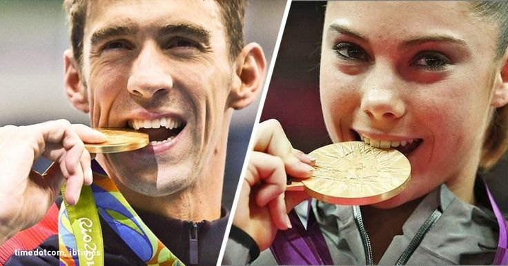 Doyou know why Olympic champions bite their medals?