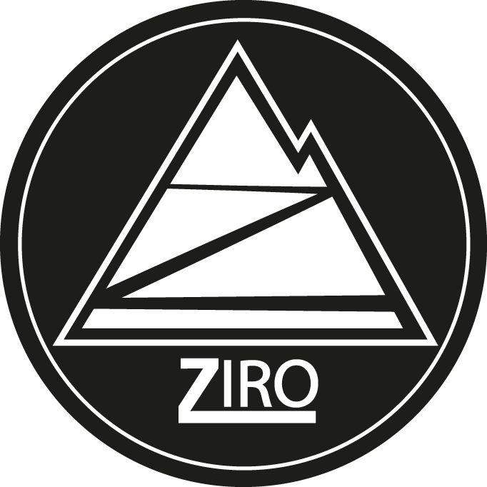 ziro logo de skater board ..un trabajo hecho con mucho empeño y cariño por el deporte.
