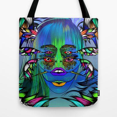 Delirium Tote Bag by Kvachi - $22.00