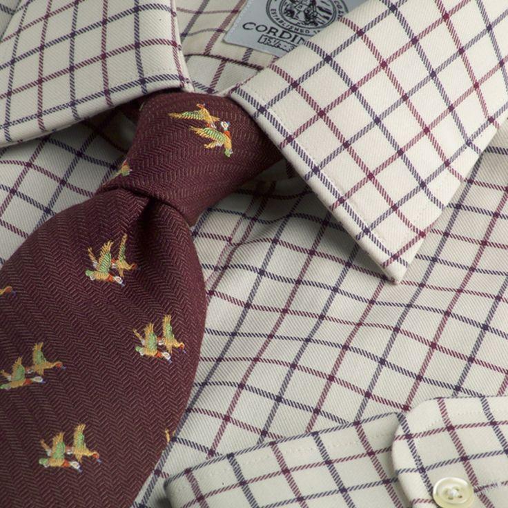 Tattersall shirt. http://www.annabelchaffer.com/categories/Gentlemen/