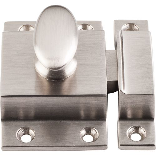 top knobs additions collection 2 inch brushed satin nickel cabinet latch brushed satin nickel catches and latches cabinet catches and latches