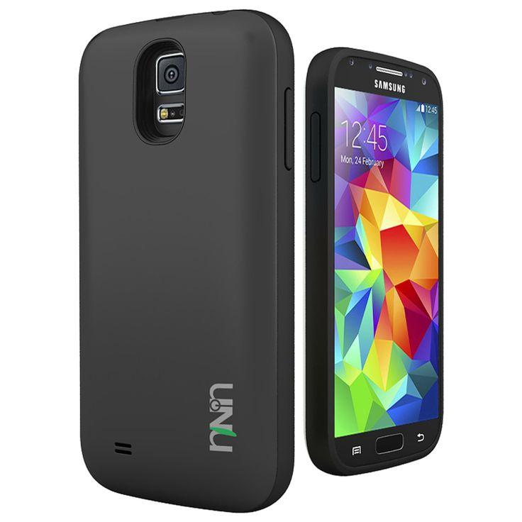 UNU Unity Samsung Galaxy S5 Battery Case - Rechargeable External Protective Battery Case [Black/Black] for Samsung Galaxy S5. http://www.galaxy-s5-cases.com