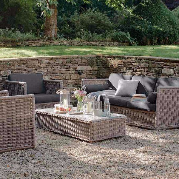 Harting Rattan Garden Sofa Set - Modish Living