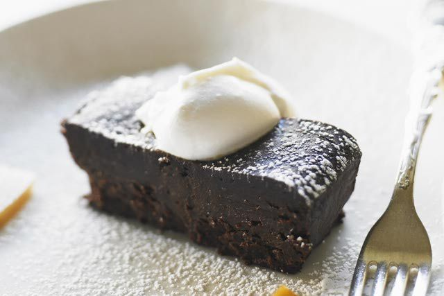 Sugar-Free Chocolate Pecan Torte Recipe (mix in food processor - quick and easy)