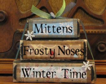 Winter Sign Winter Kisses From Heaven by PunkinSeedProduction