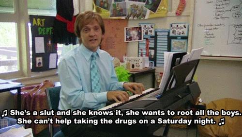 hahaha I love Summer Heights High.