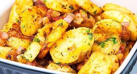 Chrumkavé zemiaky na bavorský spôsob