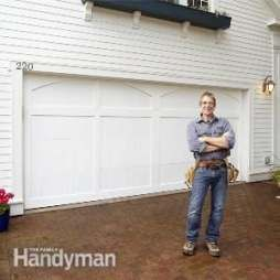 37+ Ideas Garage Door Makeover The Family Handyman