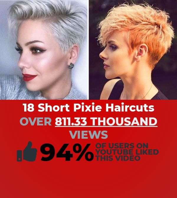 "Want a dank How-To & Style clip to play? This engaging video titled, ""18 Short Pixie Haircuts & Hairstyle Trends 2019 - New Pixie Cut Styles Compilati..."