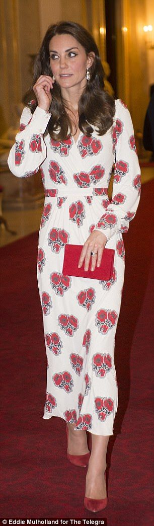 Kate's 1940s-inspired McQueen is relaxed and easy to wear, with balloon sleeves and very fashion-forward midi length. Letizia's Carolina Herrera dress is a little boxy, and a crucial 2in too short. Read more: http://www.dailymail.co.uk/The Duchess and Letizia blossomed into fashion queens | Daily Mail Online