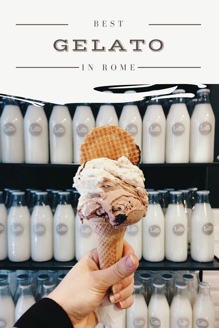Check these 14 great places to get the best gelato in Rome | Europe Travel | Italy Travel | Rome Travel | Rome Food | Things to Do in Rome | City Breaks | What to Do in Rome Italy | Rome Food Guide #Foodietravel