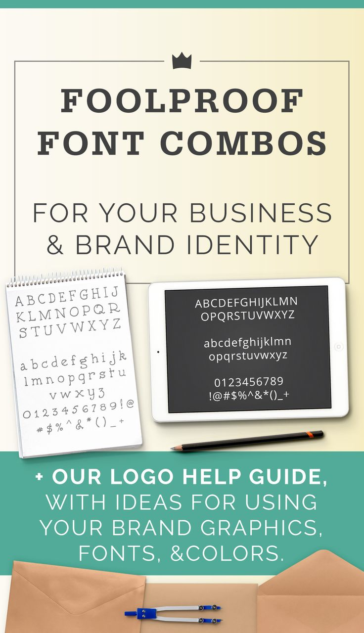 Choosing fonts for your business, and how graphic designers create font combinations that work.