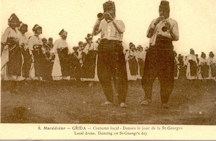 Macedoine - Gida (Macedonia) | Local dress. Dancing of St. George's day.