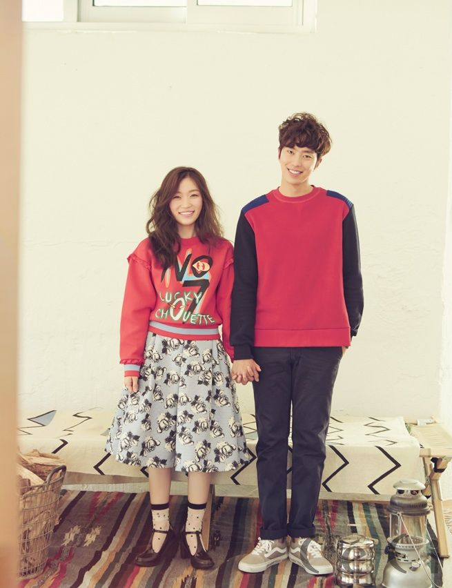South Korean actor Yoon Hyun Min and actress Kim Seul Gi for CeCi's Nov '14 edition #yoonhyunmin #kimseulgi #ceci #discoveryofromance #findingtruelove #korea #southkorea