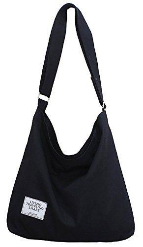 SALE PRICE -  12.29 - Covelin Women s Retro Large Size Canvas Shoulder Bag  Hobo Crossbody Handbag Casual Tote 262f6e68665d7