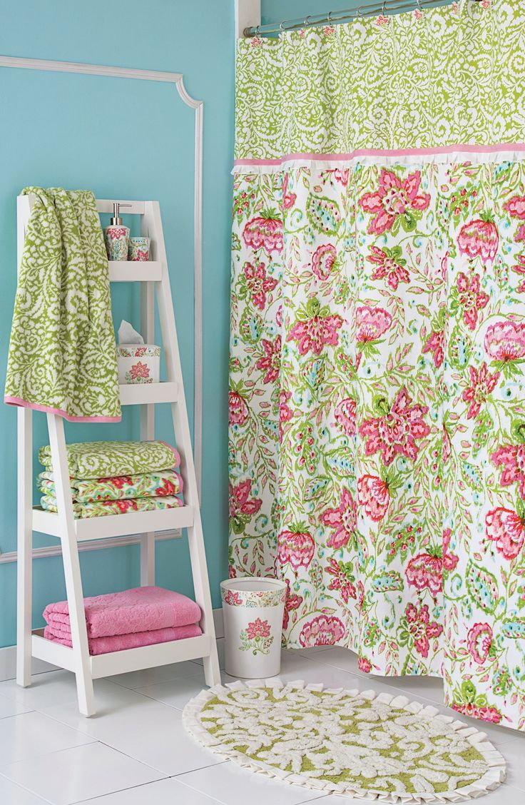 Shower curtains for girls - Cute Bathrooms Need Cute Shower Curtains