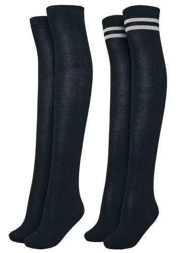Ladies Overknee Socks 2-Pack - Podkolanówki - Urban Classics