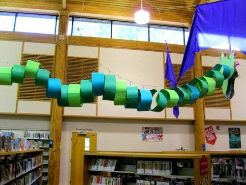 dream dragon construction - I want one in my classroom