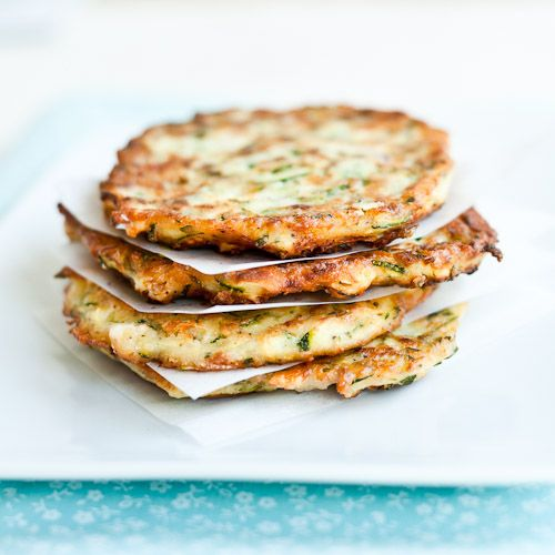 Courgette Fritters with Feta