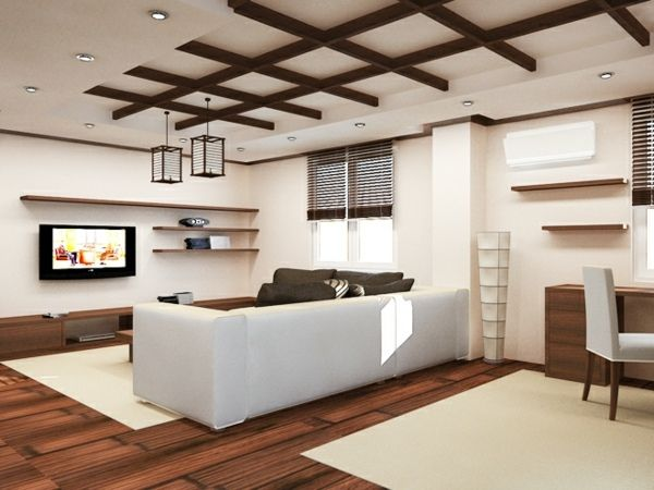 wooden ceiling designs for living room. Pictures on Wooden False Ceiling For Living Room  Free Home Designs