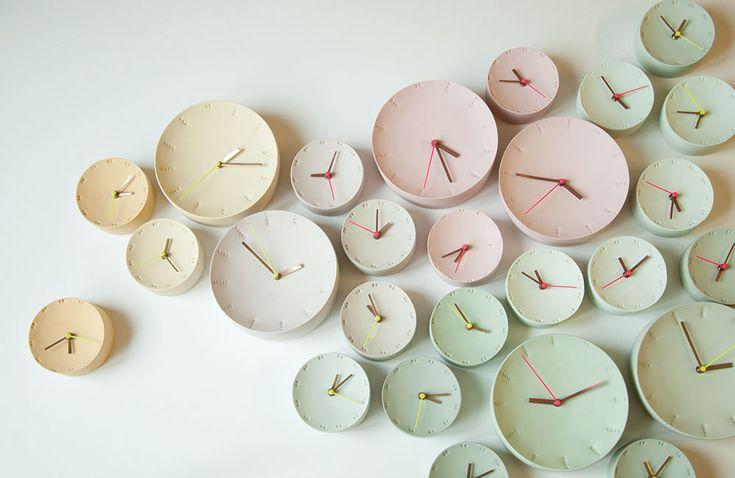 De klok van Elke van den Berg   Interieur inrichting