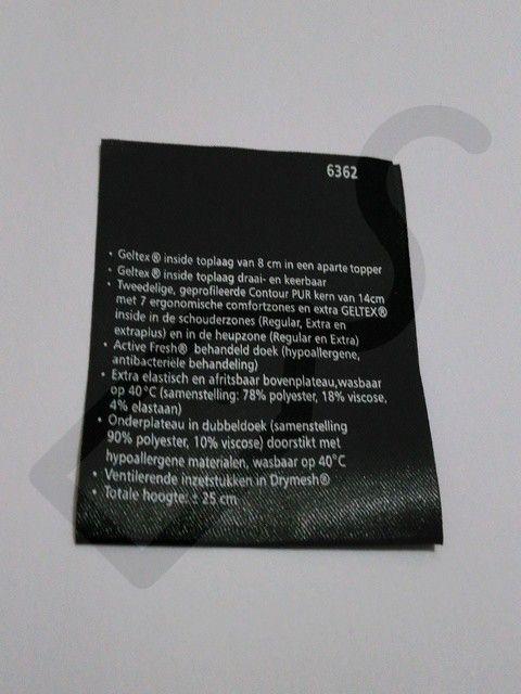 Baskılı Saten Kumaş   Etiket Servisi