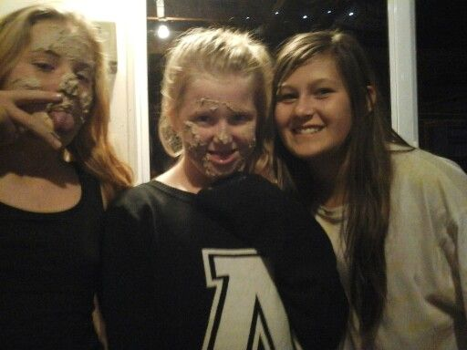 Haley eden and paige... cake faces