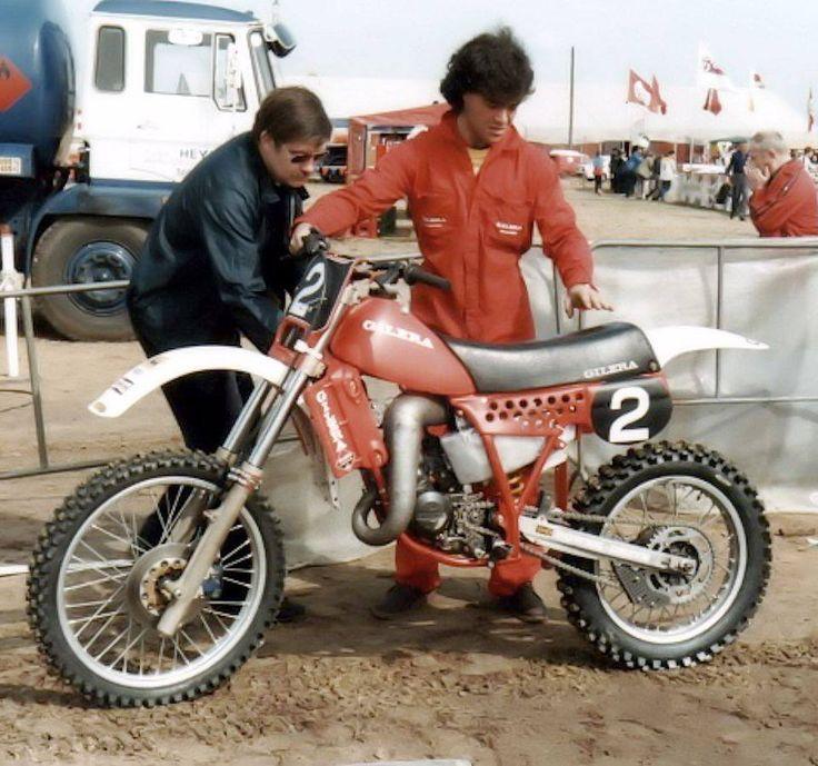 Corrado Maddii Gilera C2 125 Works 1983