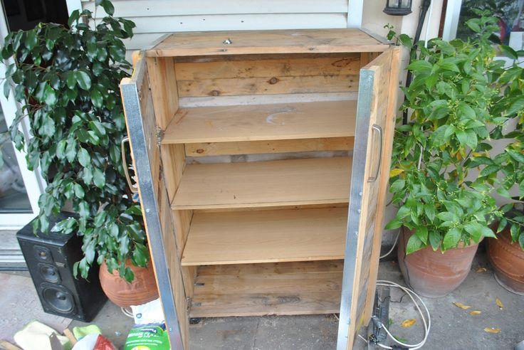 diy outdoor storage closet