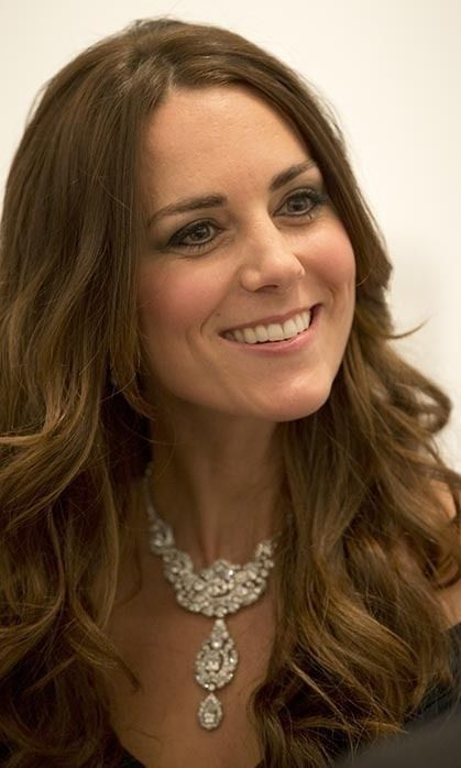 """""""Oh this?  Darling, it's just a little family trinket. Thank you for noticing."""" #katemiddleton #katefestdotcom"""