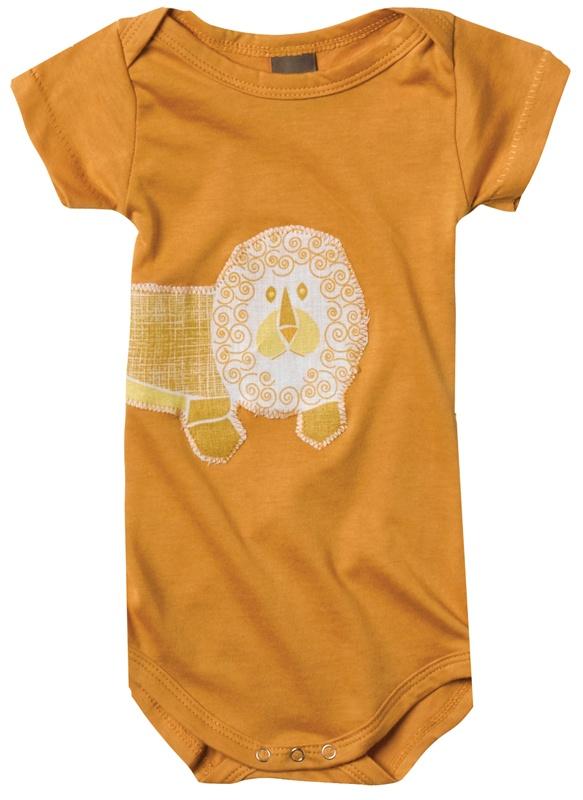"Zebi Baby Organic ""Lion"" Bodysuit"