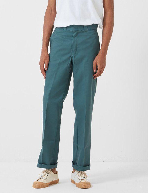 Dickies 874 Original Straight Fit Work Pant Lincoln Green