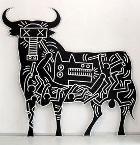 Guernica interpretation by Keith Haring