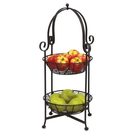 Elegant Fruit Bowl Basket For Your Kitchen Counter Cool