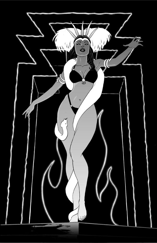 From Dusk Till Dawn - fan art by Mike Hawthorne