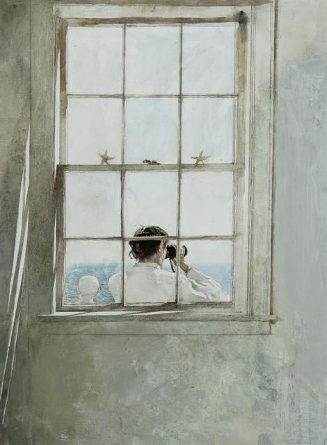 Andrew Wyeth, Starfish on ArtStack #andrew-wyeth #art