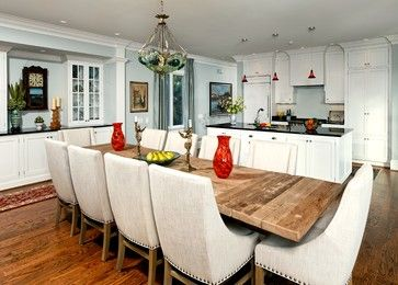 Dream Dining Room Beach Waterfront Custom Home Beach Style Dining Room