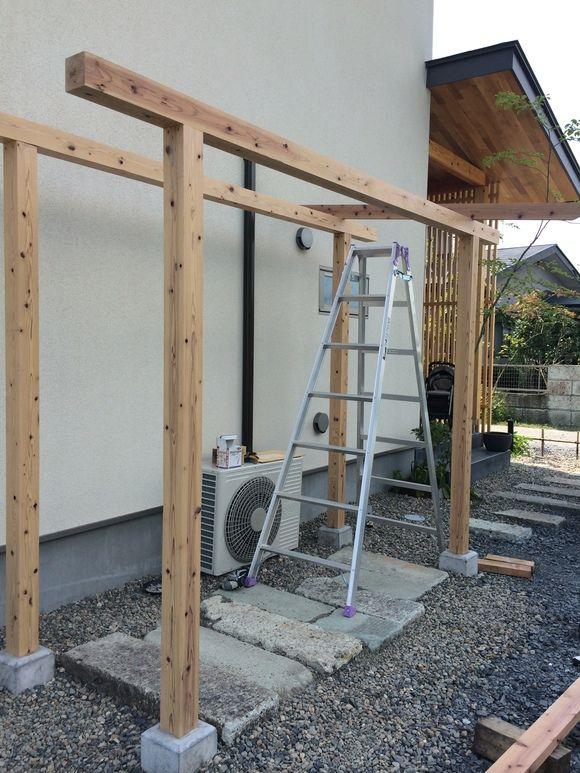 DIY!!!木製サイクルポート。 : ikuzzak architect blog