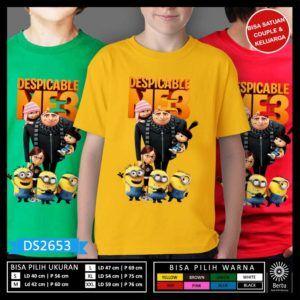 Baju Anak Minion Despicable Me 3