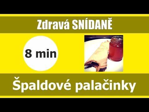 Špaldové palačinky | Zdravá snídaně  | Video recept | DancaHajkova.com - YouTube