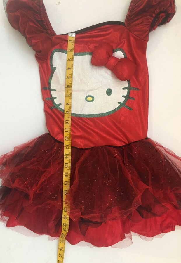 19c0d18bc Hello Kitty Womens Costume Halloween Cosplay Size S Pre Owned Vintage Tutu  #Affiliate #Halloween