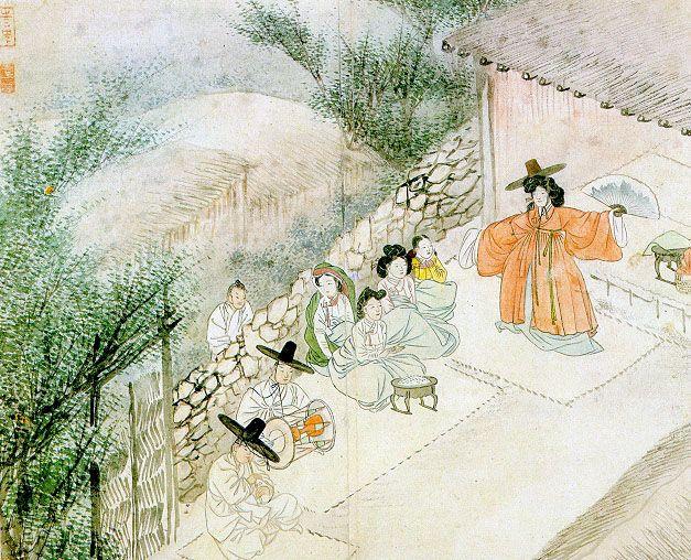 The dance of a Shaman - Shin Yun-Bok