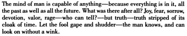 Joseph Conrad, Heart of Darkness