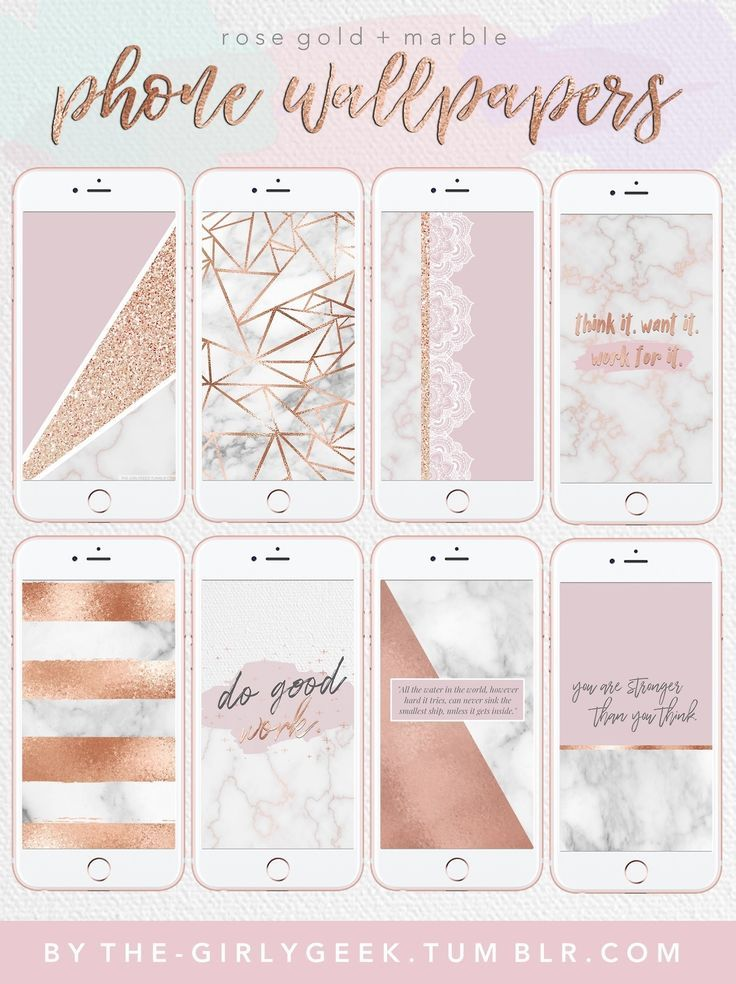 Free Rose Gold And Marble Phone Wallpapers Lockscreens Rose Gold Marble Wallpaper Rose Gold Wallpaper Gold Marble Wallpaper