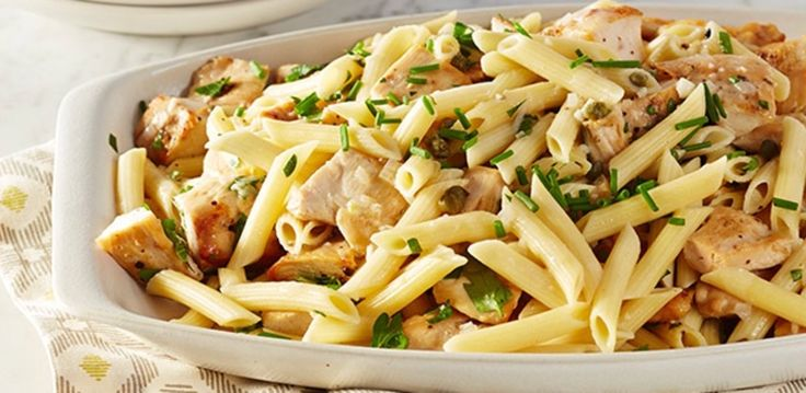 Chicken Piccata Pasta Toss By Rachael Ray