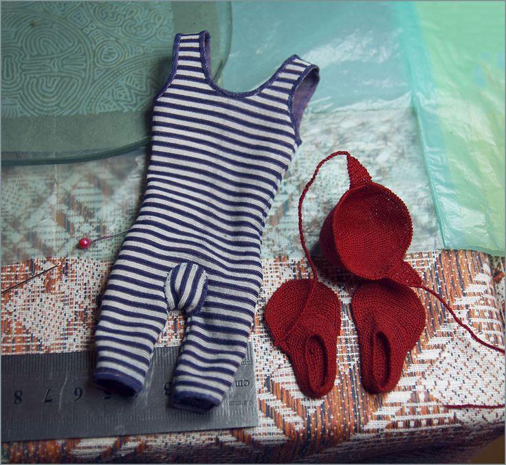 Одежда для куклы. Автор - Шабурова Ксения.