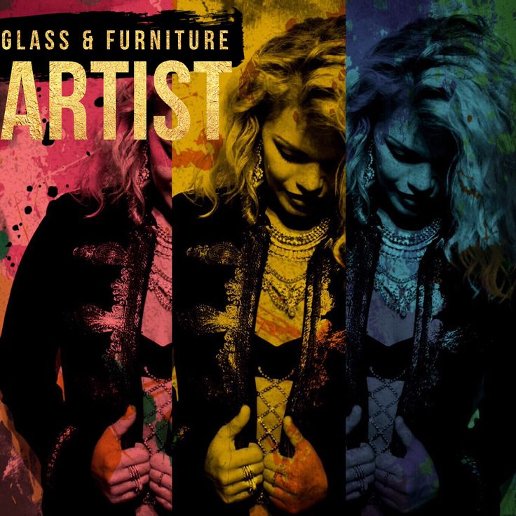 Glass and furniture artist