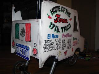 New York City Family: DIY Halloween Costume Idea for Babies and Toddlers: Taco Truck