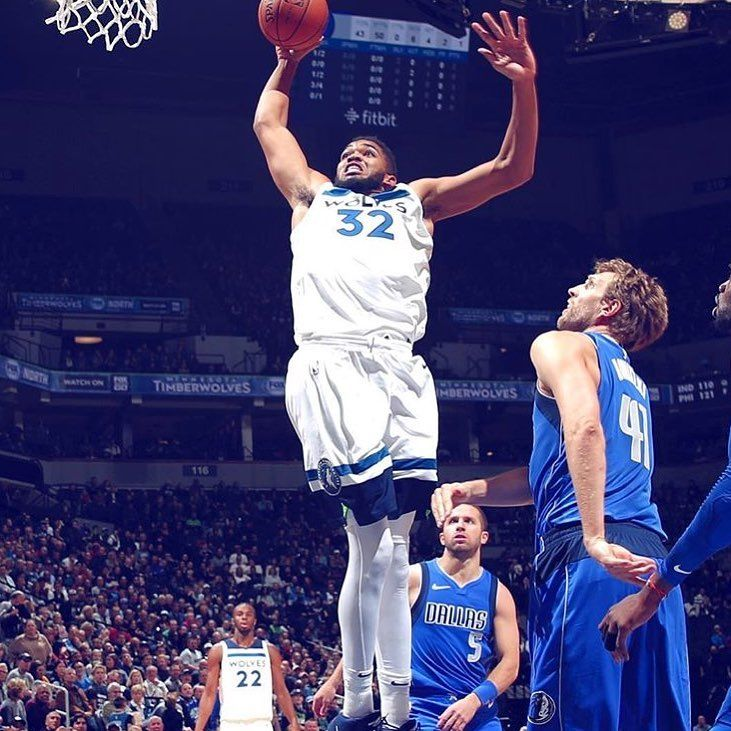 KAT: 31pts 12rebs in 112-99 Win Over Dallas last night.  #Sixers#Bulls#Bucks #Hawks#Celtics#Cavaliers #Nets#Mavericks #Hornets#Nuggets#Pistons #Warriors#Rockets#Pacers #Lakers#Timberwolves #Magic#Pelicans#Knicks #Clippers #Grizzlies#Heat #Thunder#TrailBlazers#Spurs #Suns#Kings#Jazz#Raptors #Wizards